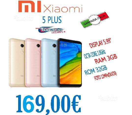 XIAOMI 5 PLUS OCTA CORE 1.8GHz RAM 3GB ROM 32GB IT