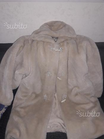 Cappotto pelliccia donna M