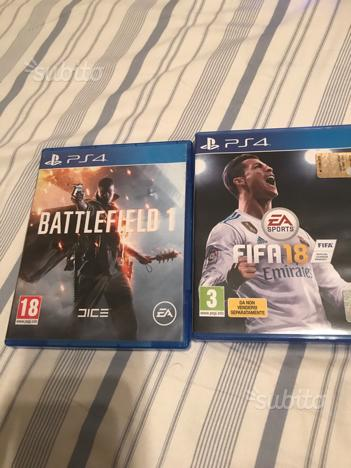 Fifa 18 & Battlefield 1