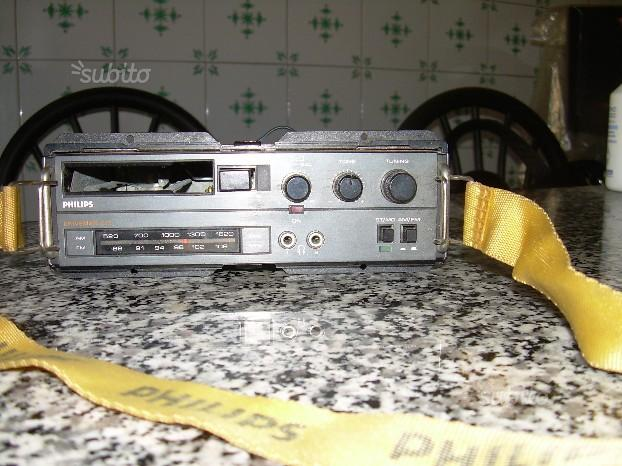 Autoradio Philips Anni 80