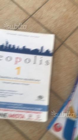Libro Geopolis per Liceo