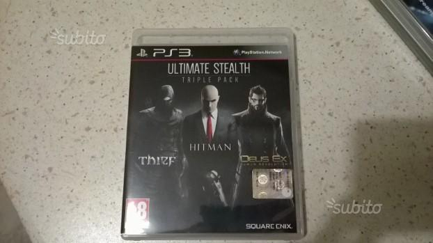 Ultimate Stealth Triple Pack per PS3