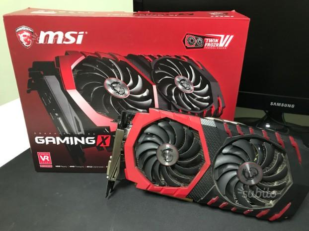 2 msi rx 480 gaming x - 8gb