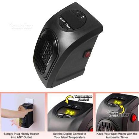 Stufa Handy Heater 400W portatile basso consumo