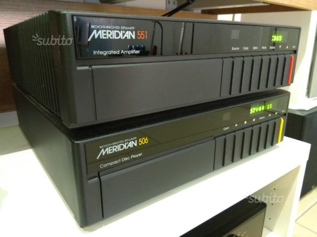 Amplificatore Meridian 551