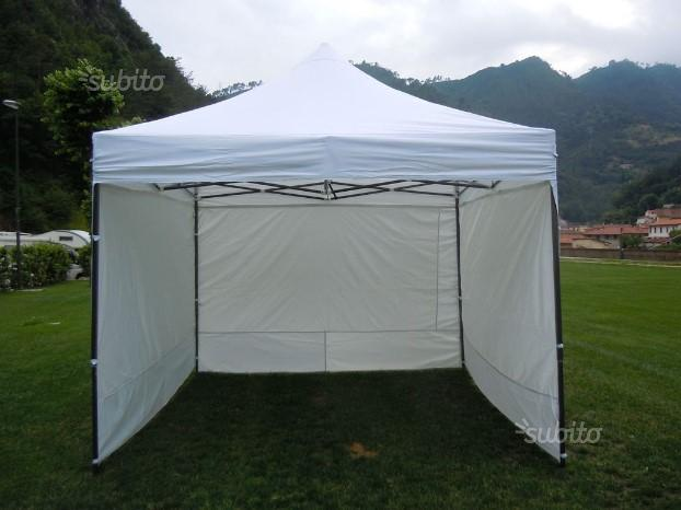 Gazebo richiudibile 3x3mt con paretine Nuovo