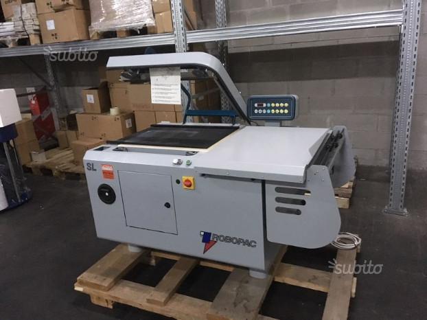 Saldatrice imbustatrice angolare Robopac 6050