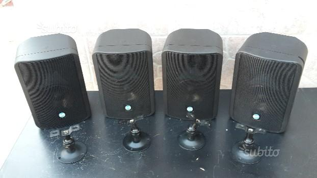 4 casse monitor rcf