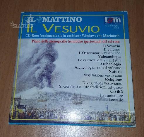 CD-rom Il Vesuvio e l'uomo Il Mattino