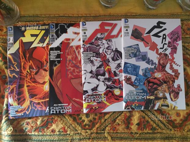 Fumetti - Marvel - Flash - Superman - Manga