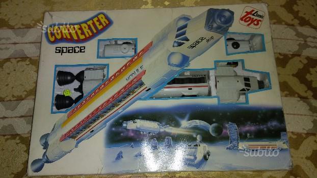 Giocattoli vintage anni 80 Converter Lima Toys