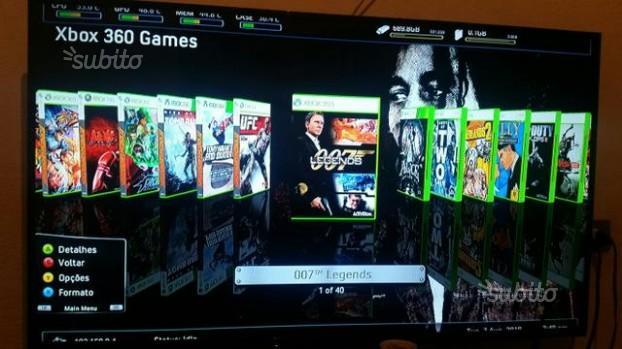 Xbox 360 r.g.h. 250gb + 40 giochi