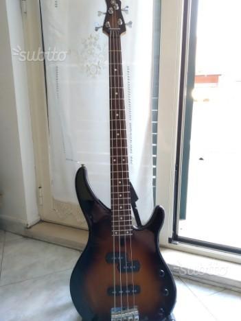 Basso Elettrico Yamaha TRBX174EW In Mango