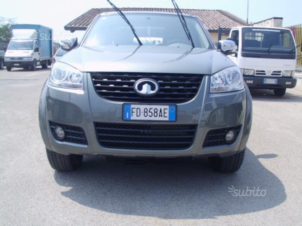 GREAT WALL STEED 5 2.0 TDI 143 CV 4X4 anno 2016