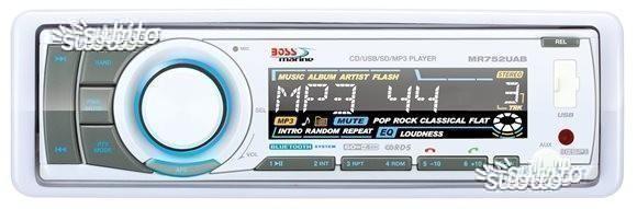 Stereo Marino con Bluetooth Boss Marine MR752UAB