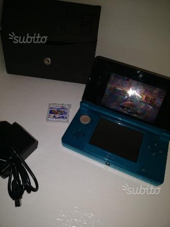 Nintendo 3ds color azzurro completa di gioco origi