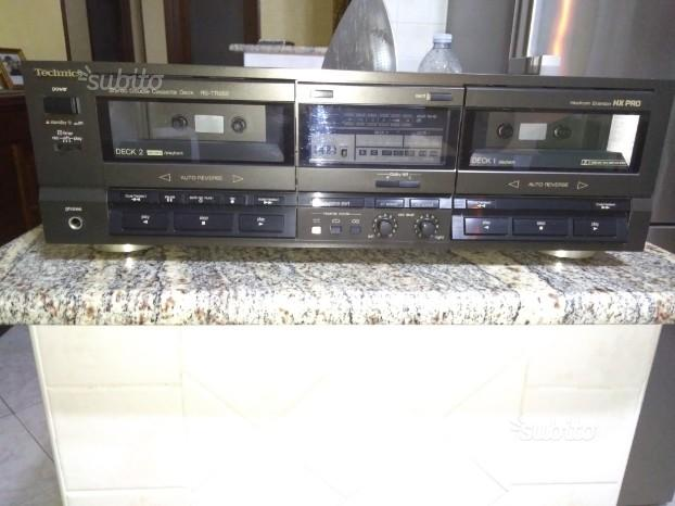 Piastra a cassette Technics