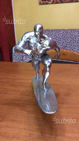 Silver Surfer action figure stampa 3D statua