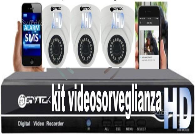 Kit videosorveglianza HD altissima definizione