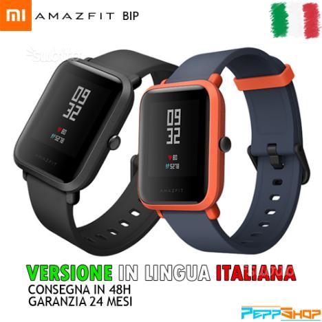 Smartwatch Xiaomi Amazfit Bip - Lingua Italiana