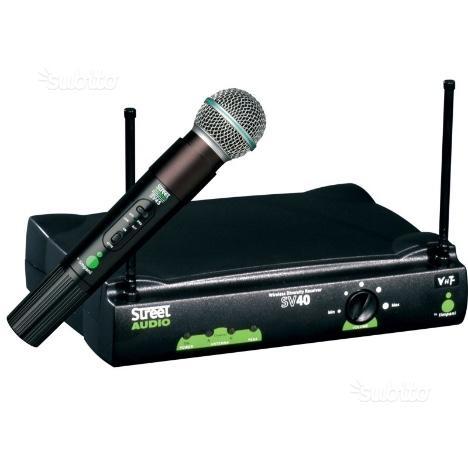 Radiomicrofono palmare timpani STRSV4045M professi