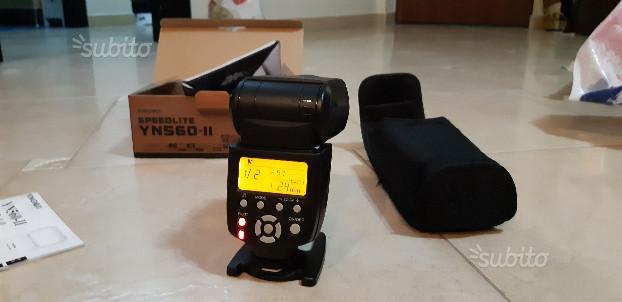 Flash Yongnuo YN560 II speedlight per Nikon Canon