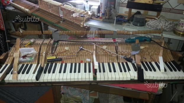 Liuteria accordatore, meccaniche di pianoforti