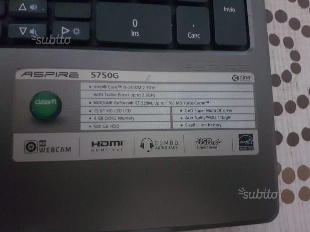 Pc portatile i5