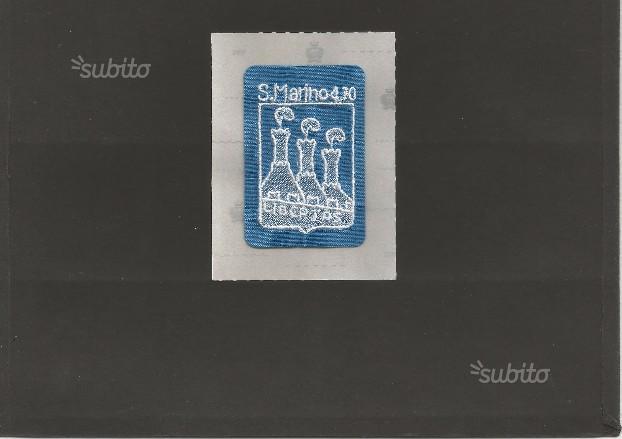 San Marino francobollo di merletto, tirat.limitata