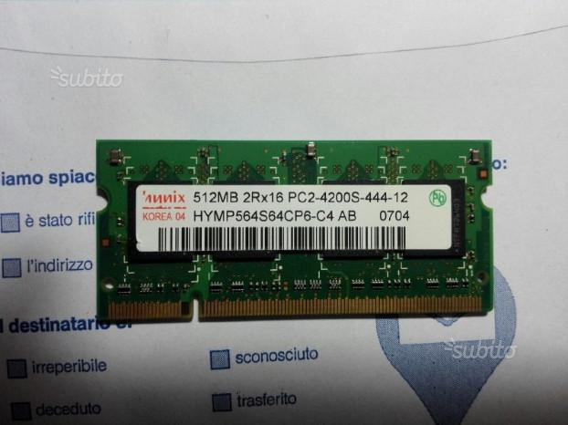 Ram varie tipologie nuove/vecchie