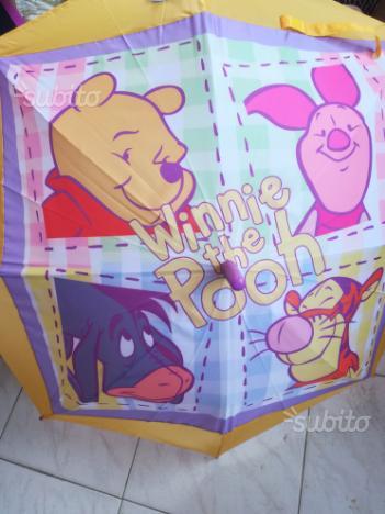 5 ombrelli nuovi Winnie the Pooh originali