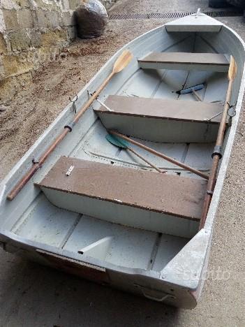 Barca in alluminio