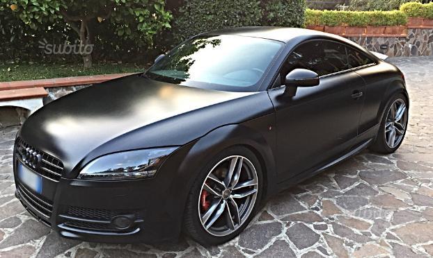 Audi tt allestimento s
