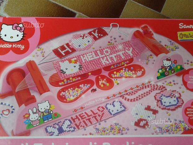 Telaio Perline Hello Kitty Clementoni