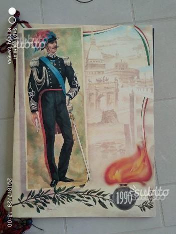 Calendari Arma dei Carabinieri 1990
