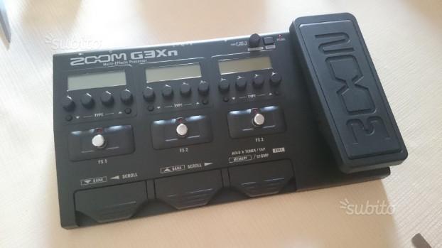 Pedaliera multieffetto chitarra Zom G3XN NUOVA