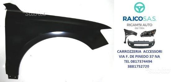 Parafango anteriore audi q5 dal 2008 al 2012