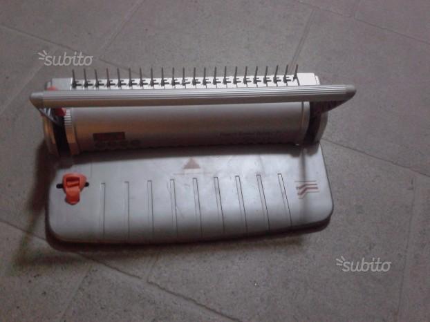 Rilegatrice Manuale a Spirali Metalliche da 8mm