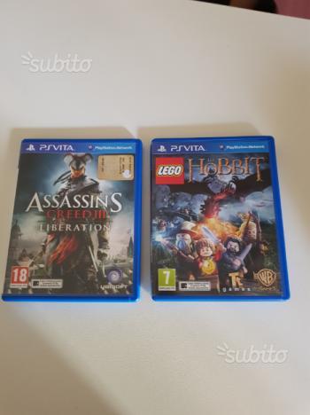 2 giochi per sony ps vita originali