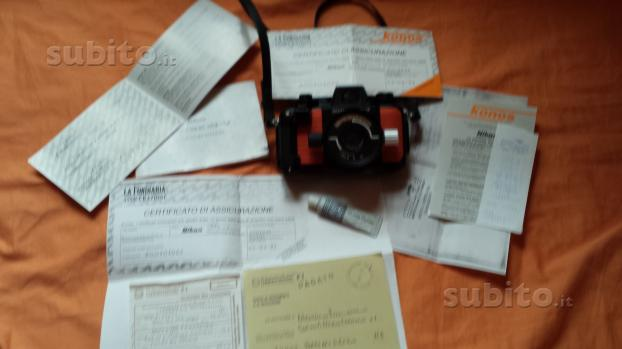 Macchina fotografica Nikonos V 50 METRI SUB