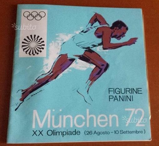 Album Panini Olimpiadi Munchen 72. Nuovo