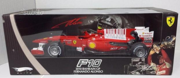 1.18 Ferrari F10 Alonso 2010 hot wheels Elite