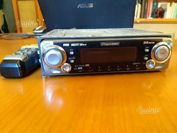 Autoradio Pioneer EEQ Mosfet 50w x 4