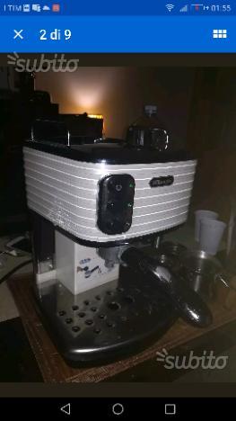 Delonghi icona scultura macchina caffè