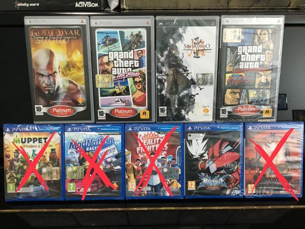Giochi Originali per PS vita e PSP