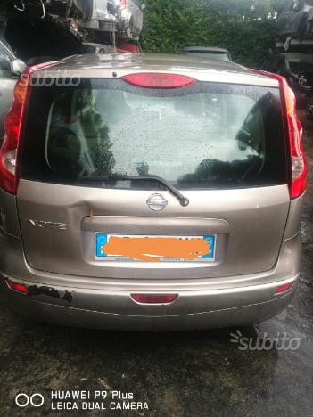 Nissan note per ricambi
