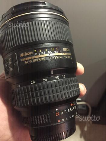 Nikon af s 17 35 2.8