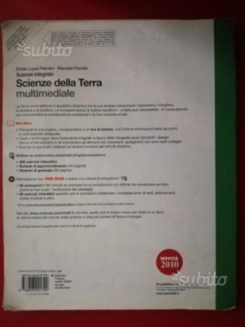 """Scienze integrate """"SCIENZE DELLA TERRA"""""""