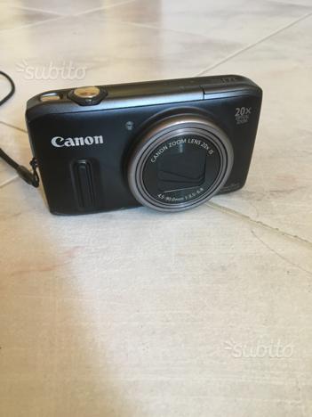 Canon Sx240 PowerShot come nuova