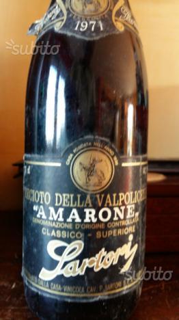 Amarone Sartori 1971